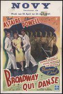 Broadway qui danse | Broadway danst, Novy, Gent, 18 - 24 april 1947