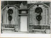 Gent: Emilius Seghersplein: oorlogsgedenkteken: Wereldoorlog I en II, 1979