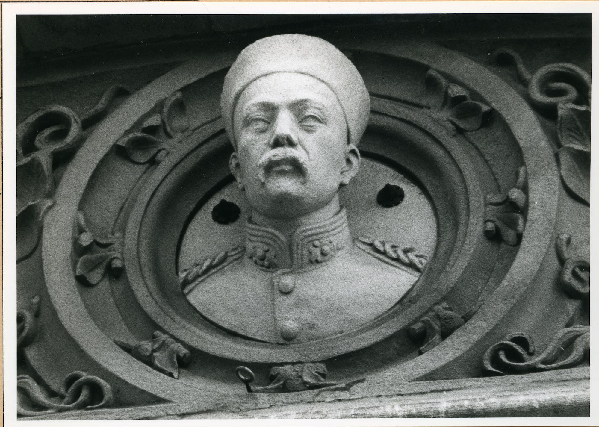 Gent: Pakhuisstraat: Buste, 1981