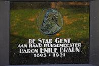 Gedenkplaat - Emile Braun
