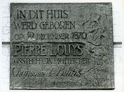 Gent: Onderstraat 29: Gedenkplaat