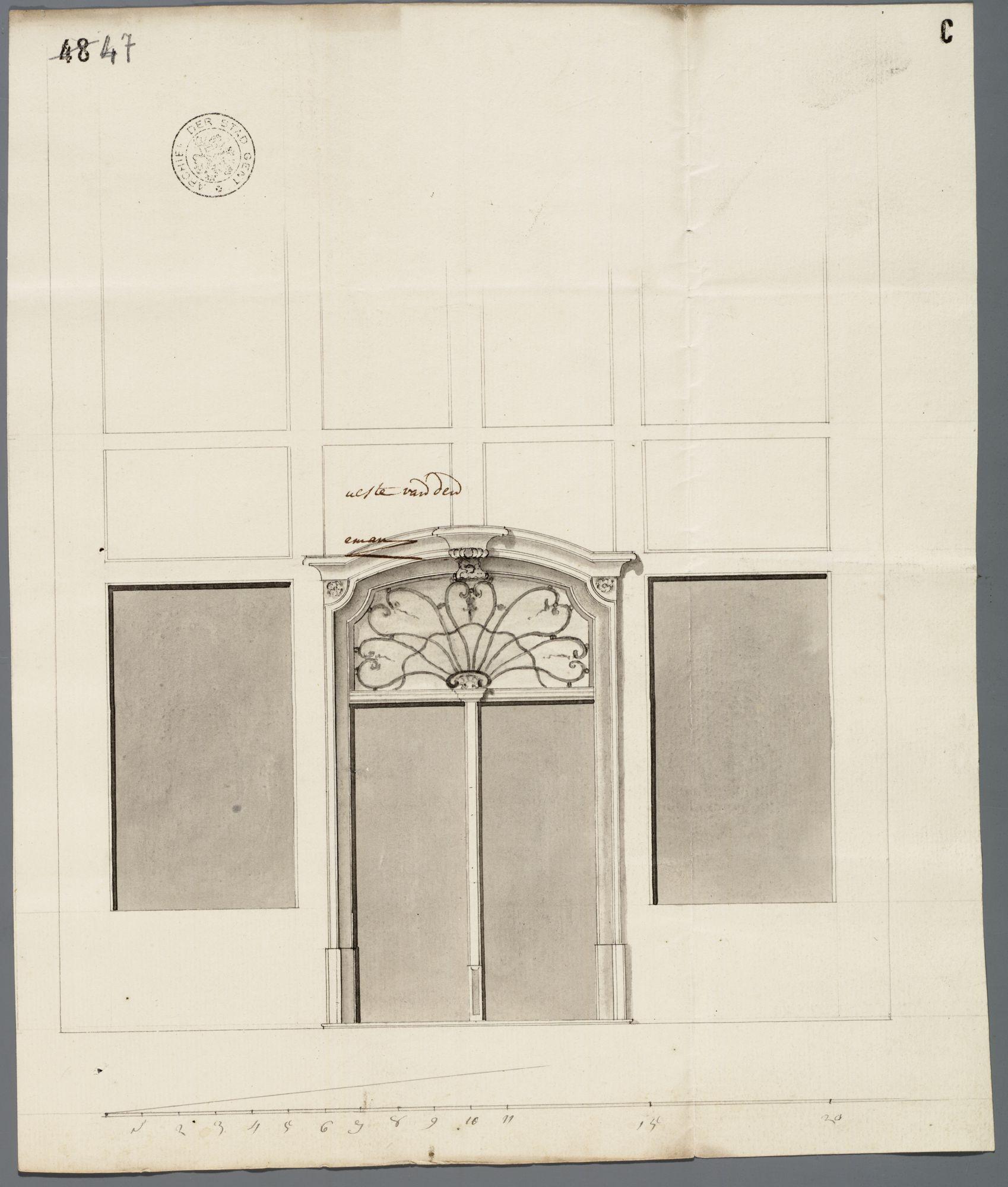 Gent: Langemunt, 1770: opstand poort
