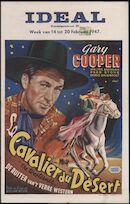 The Westerner   Cavalier du désert   De ruiter van 't verre westen, Ideal, Gent, 14 - 20 februari 1947