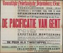 De Pacificatie van Gent . De Peer als Twistappel, Koninklijke Nederlandsche Schouwburg, Gent, 1940
