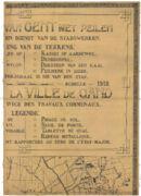 Kaart van Gent met hoogtepeilen, Dienst Stadswerken [Victor Compyn en Alphonse Soenen], [1912]