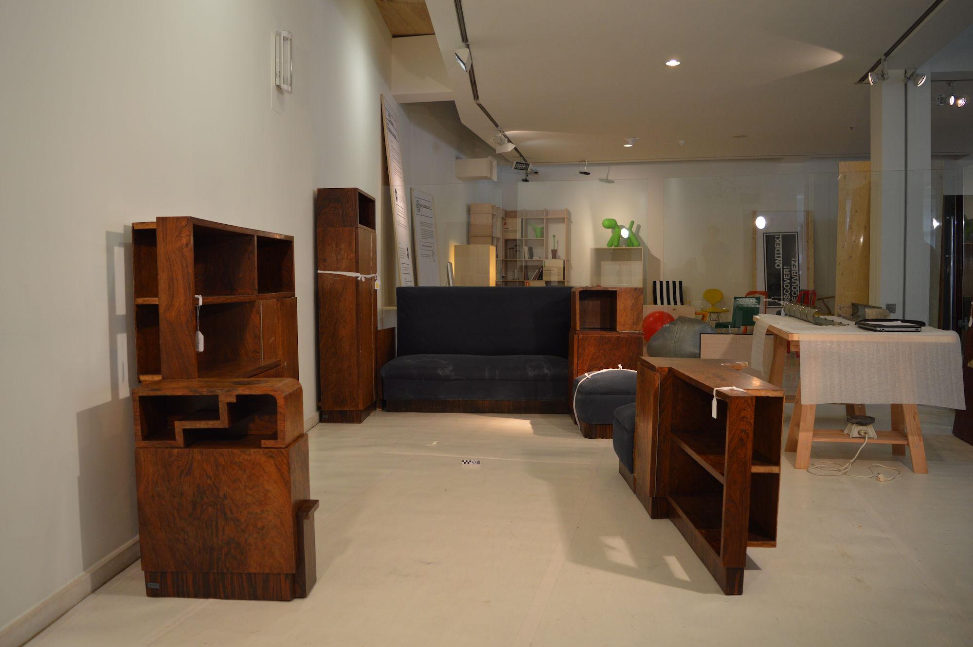 Collectie in Progress - Interieur Jules Lippens