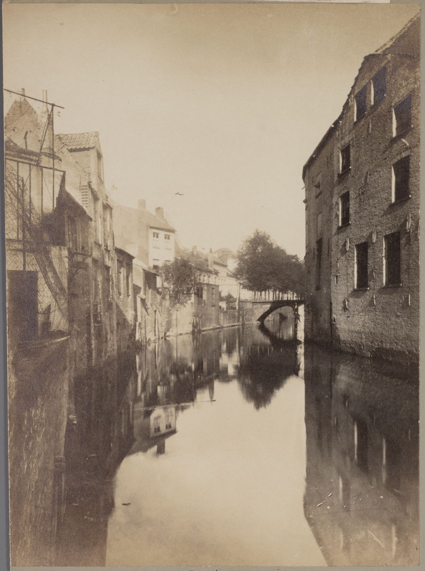Gent: Oude Houtlei voor de demping
