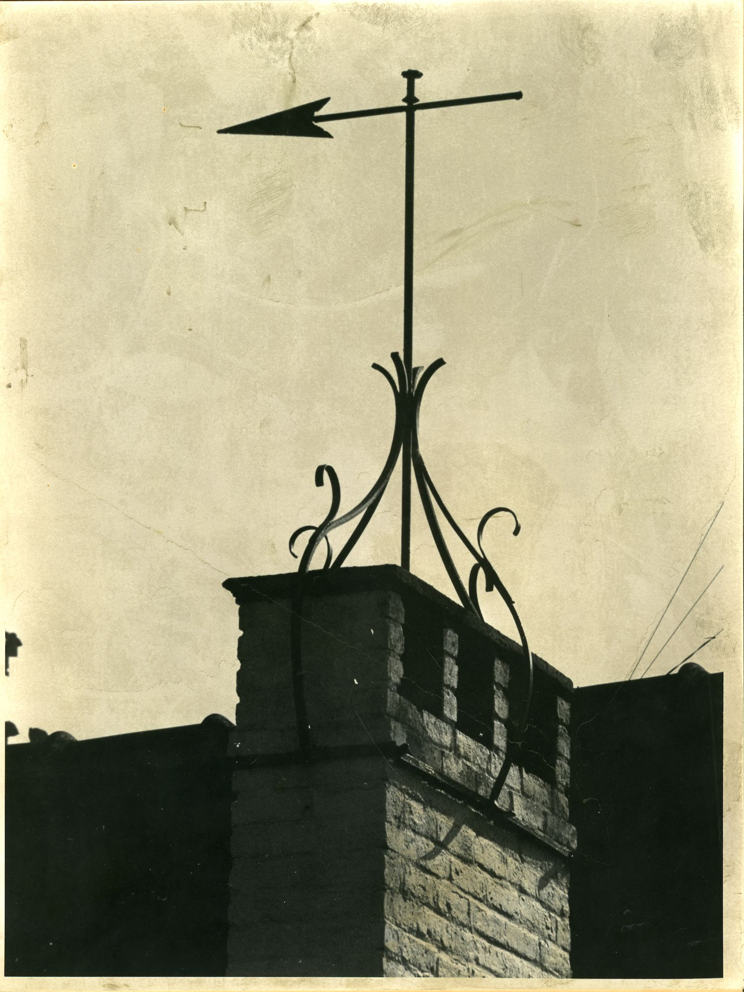 Oostakker: Katoenstraat 33: Nokversiering, 1979