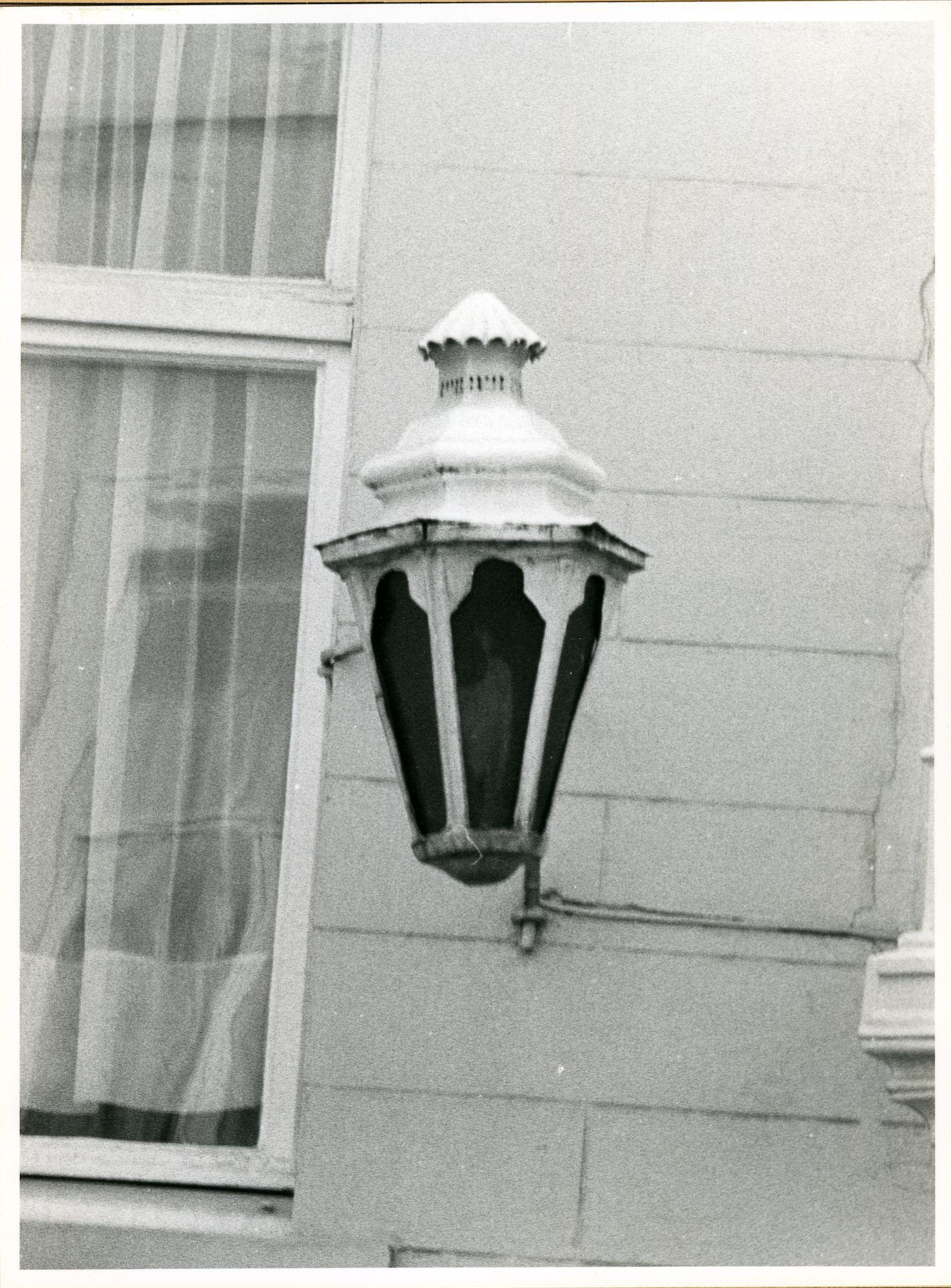 Gent: Overpoortstraat 21: Lantaarn