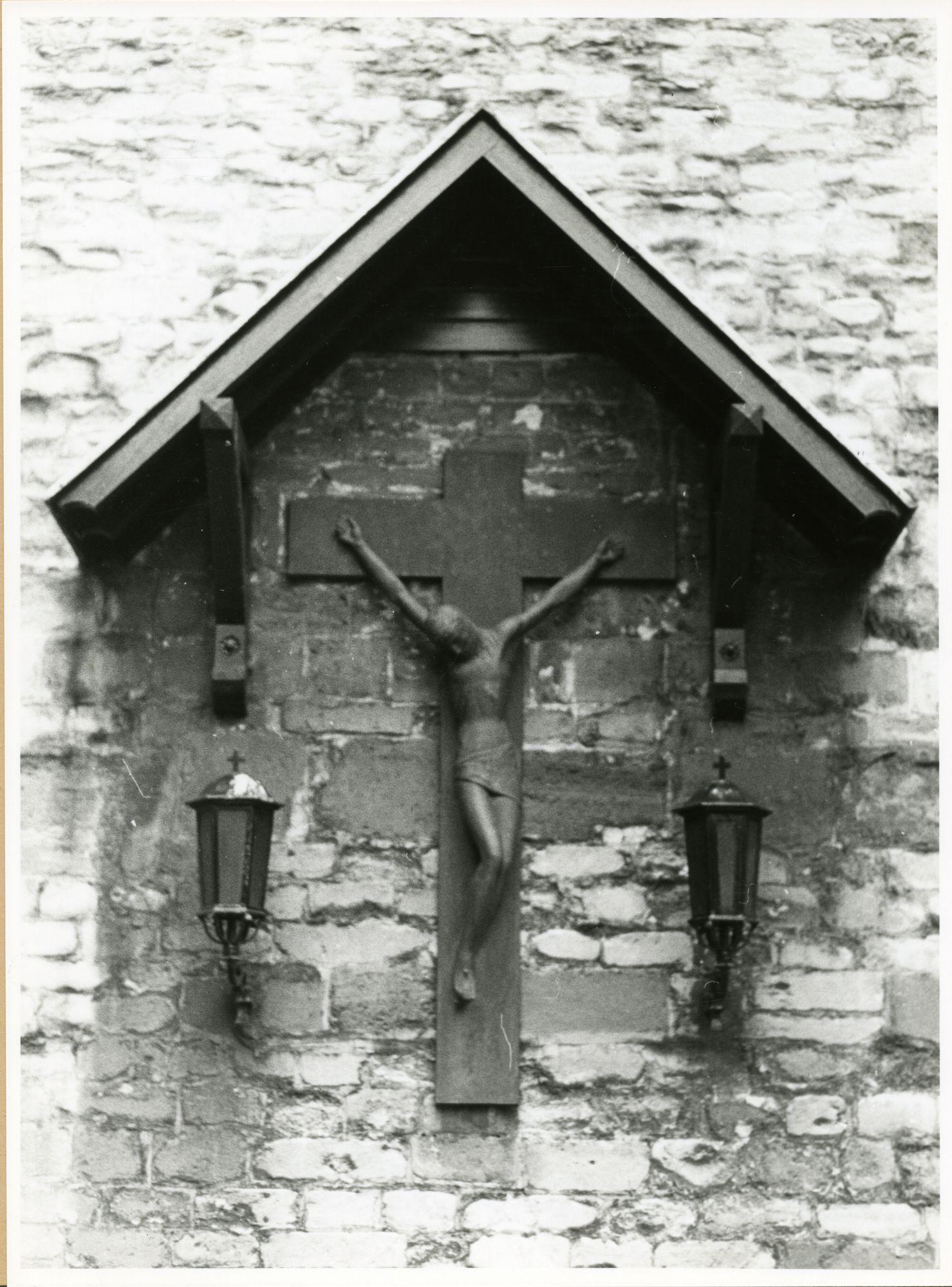 Gent: Bij St-Jacobs: St-Jacobskerk: kruisbeeld
