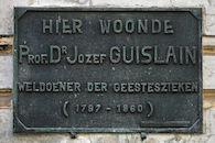 Gedenkplaat - Jozef Guislain
