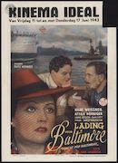 Fracht von Baltimore   Lading voor Baltimore, Ideal, Gent, 11 - 17 juni 1943
