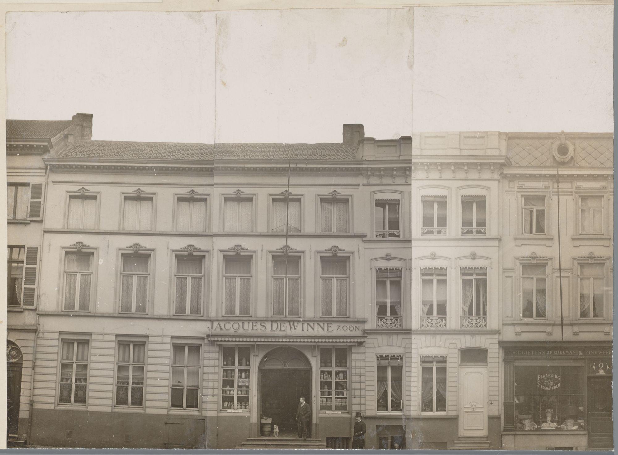 Gent: Huis Jacques De Winne, Geldmunt