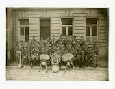Gent: muziekkapel van het 2de Landsturm bataljon (Landsturm-Infanterie-Ersatz-Bataillon) van het 3de legerkorps, 1915-1916