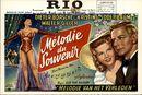 Mélodie du Souvenir | Zwei Herzen im Mai | Melodie van het Verleden, Rio, Gent, 16 - 19 januari 1959