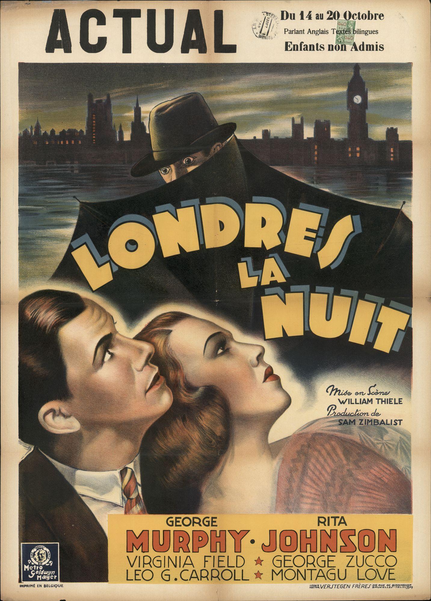 Londres La Nuit, Actual, Gent, 14 - 20 oktober 1948