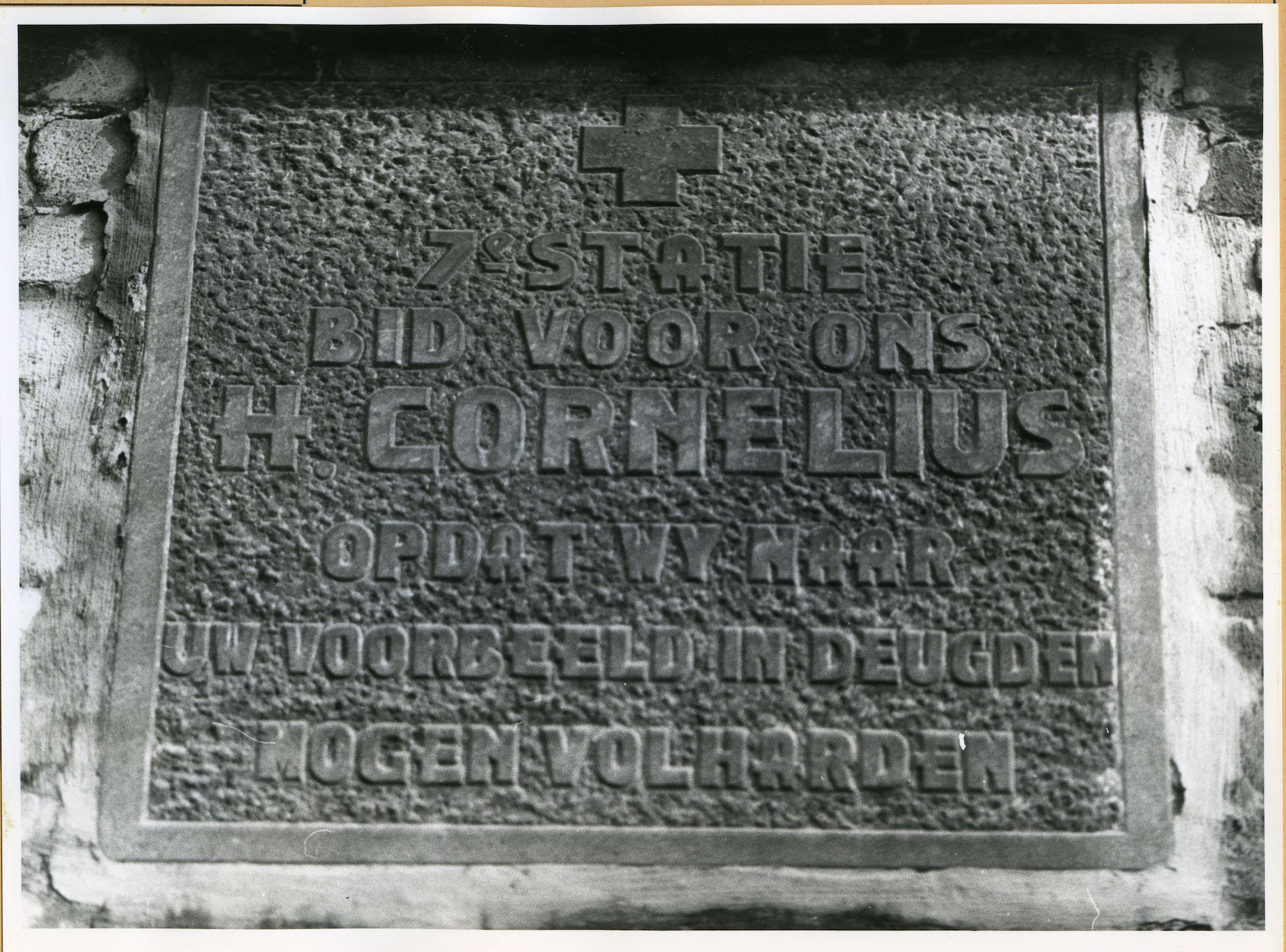 Zwijnaarde: Dorpsstraat: Staties, 1979