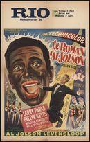 The Jolson Story | Le roman d'Al Jolson, Rio, Gent, 2 - 5 april