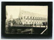 Gent: Vleeshuisbrug en Groot Vleeshuis, 1915-1916