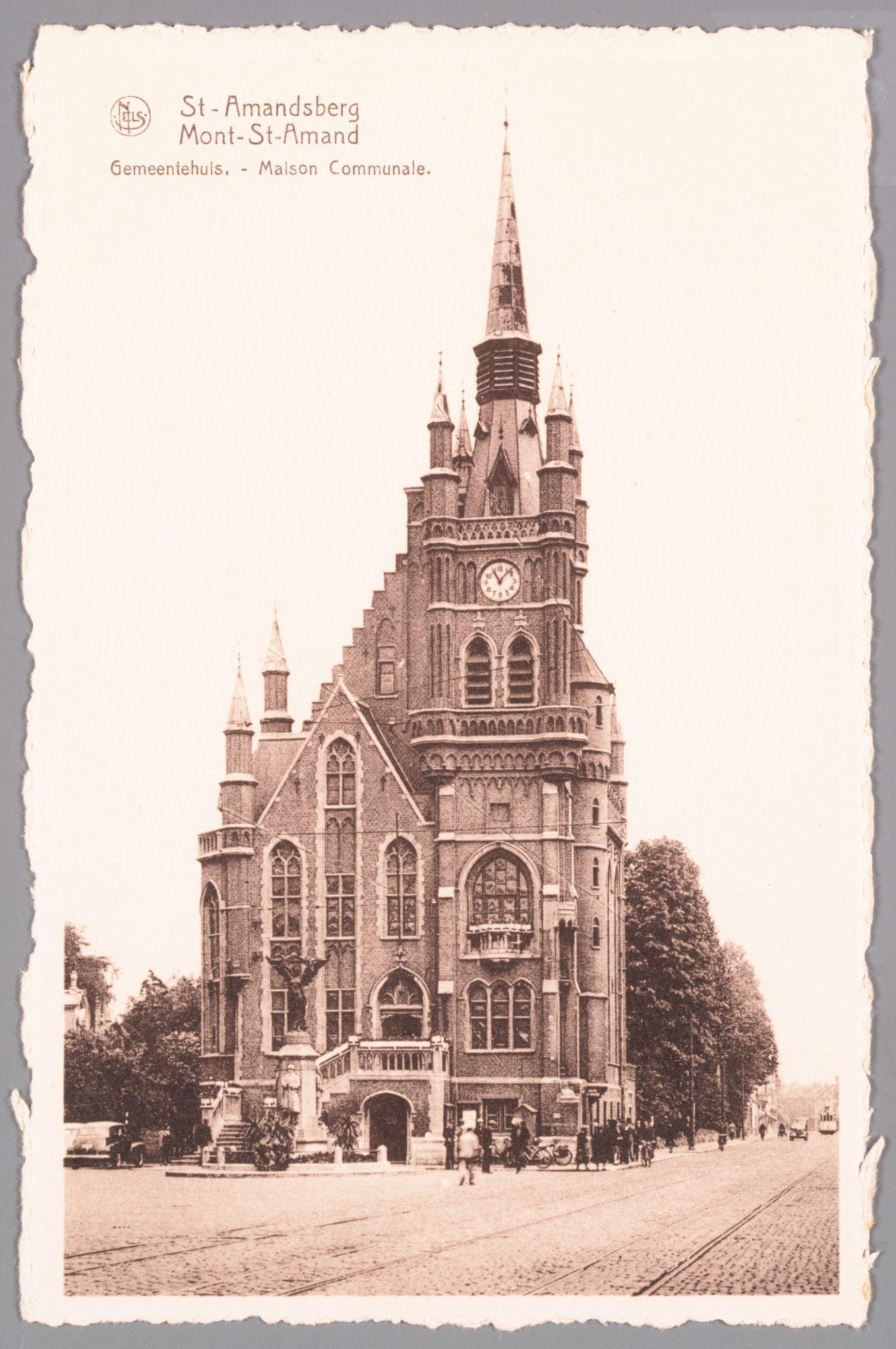 Sint-Amandsberg: gemeentehuis