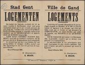 Stad Gent, Logementen | Ville de Gand, Logements.