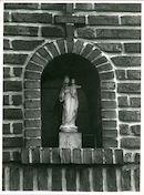 Sint-Denijs-Westrem: Lauwstraat 16: Gevelbeeld, 1979