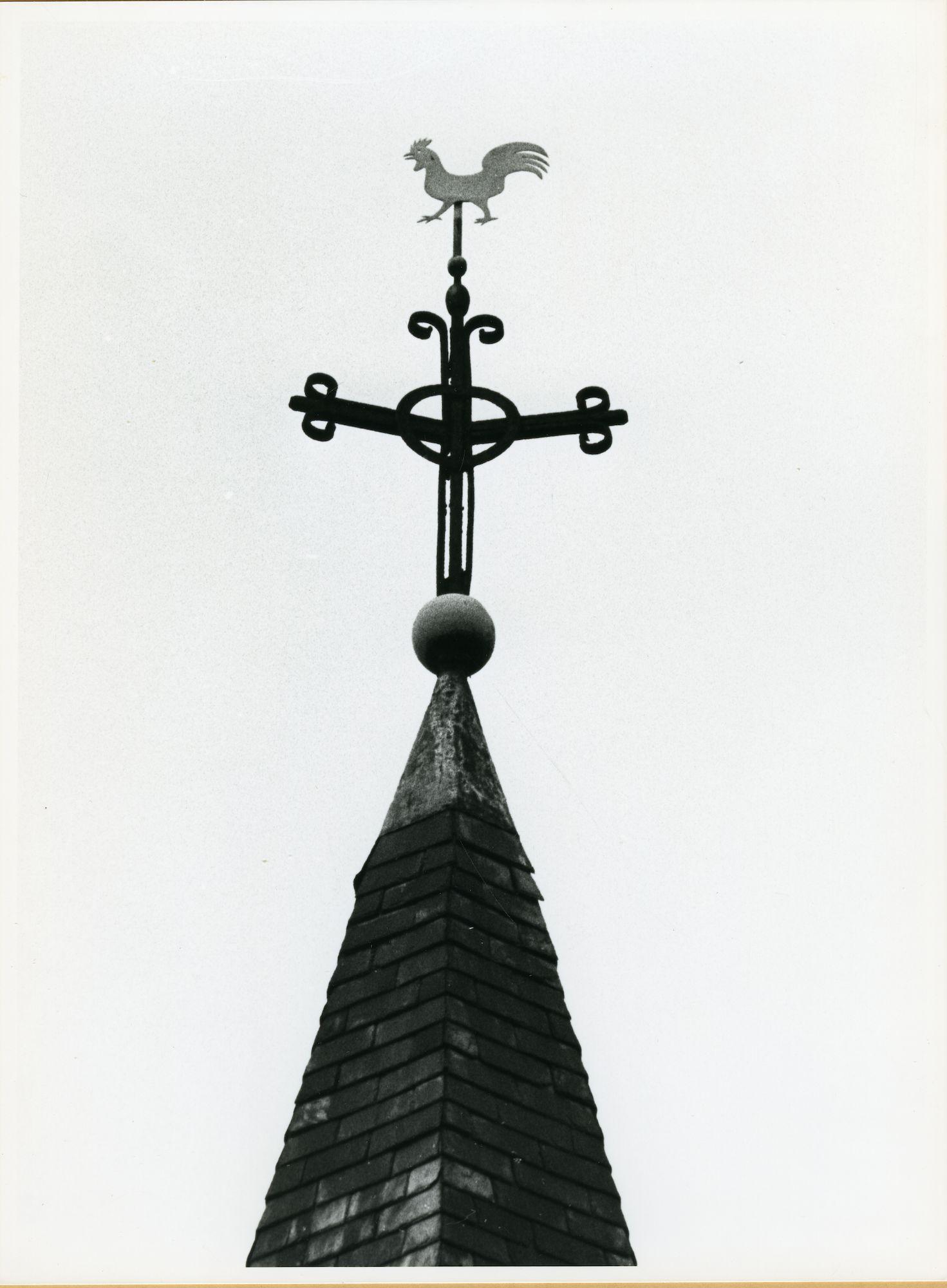 Drongen:  Gavergrachtstraat 19: Windwijzer, 1979