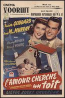 Standing Room Only | L'amour cherche un toit | Liefde zoekt onderdak, Vooruit, Gent, 21 - 27 mei 1948