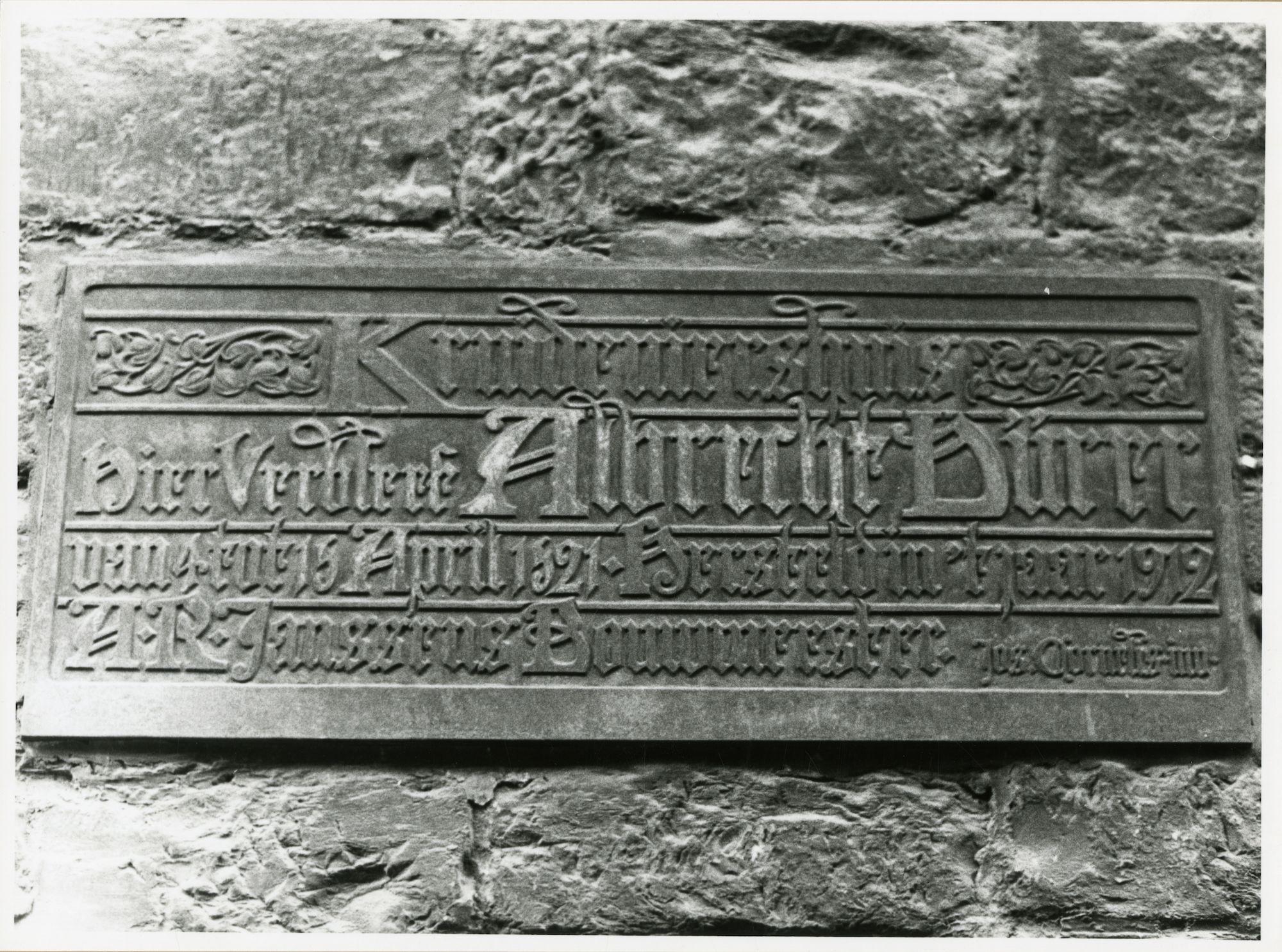 Gent: Klein Turkije 4: Gedenkplaat