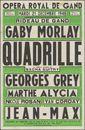 Quadrille, Opera Royal De Gand (Koninklijke Opera Gent), Gent, 21 december 1948
