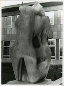 Gent: Henri Dunantlaan: Standbeeld, 1979