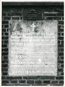 Drongen: Baarledorpstraat: Gedenksteen, 1979