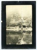 Gent: Citadelpark: vijver met grot, 1915-1916