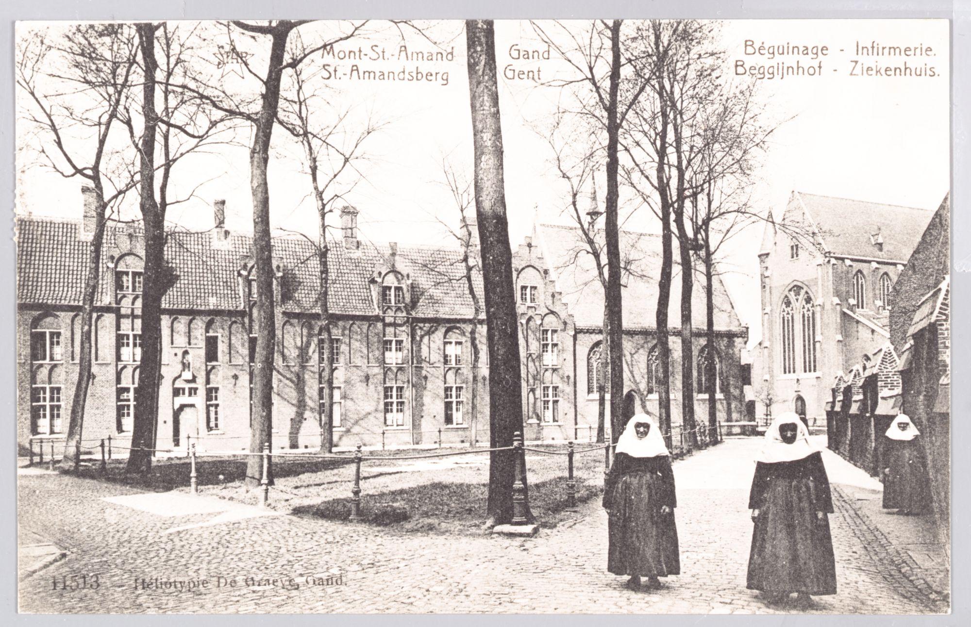 Sint-Amandsberg: Groot Begijnhof: infirmerie (ziekenboeg)