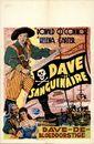 Dave le Sanguinaire | Dave de Bloeddorstige |  Double Crossbones, 1952
