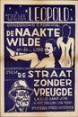 De Naakte Wilde | De Straat zonder Vreugde | Cinema Leopold, Gent, 1951