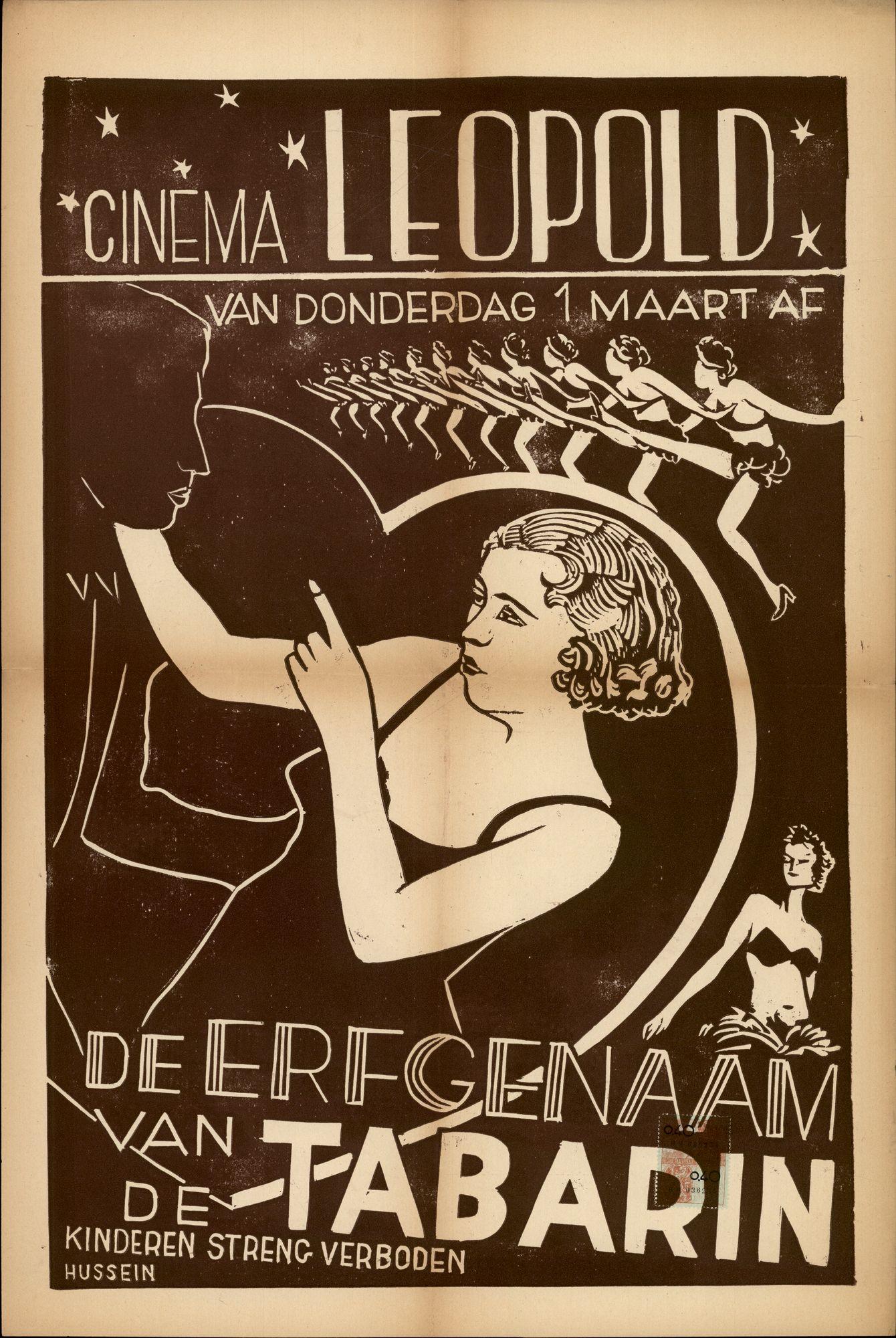 De Erfgenaam van de Tabarin, Cinema Leopold, Gent, vanaf 1 maart 1951