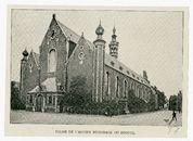 Gent: Sint-Elisabeth begijnhof. Kerk