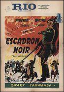 Dark Command   L'escadron noir   Zwart commando, Rio, Gent, 24 - 27 december 1948