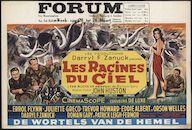 The Roots of Heaven | Les racines du ciel | De wortels van de hemel, Forum, Gent, 20 - 24 maart 1959