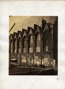 Gent: Kerk Predikheren- Pand, zuidelijke zijgevel kant Jacobijnenstraat voorheen Dominicanenstraat