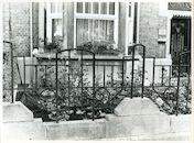 Gent: Onafhankelijkheidslaan 11-12: Hek, 1979