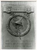 Gent: Korenlei 21: Gedenksteen