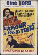 Apartment for Peggy   L'amour sous les toits   Liefde onder de daken, Ciné Nord, Gent, 23 - 29 december 1949