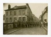 Gent: Muinkbrug en Kantienberg: voormalige gebouwen van de Belgische generale staf: Etappen-Sammelkompagnie (etappe verzamelcompagnie) 2, 1915-1916
