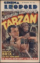 Les nouvelles avontures de Tarzan | De nieuwe avonturen van Tarzan, Cinema Leopold, Gent, maart 1948