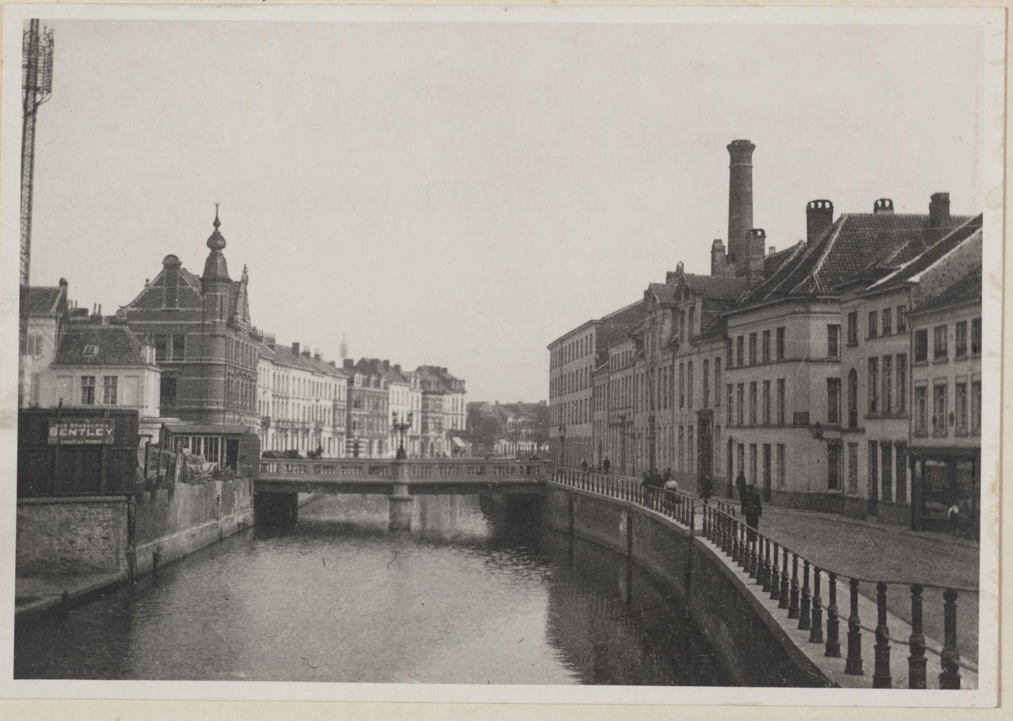 Gent: Reep en Wijdenaardbrug