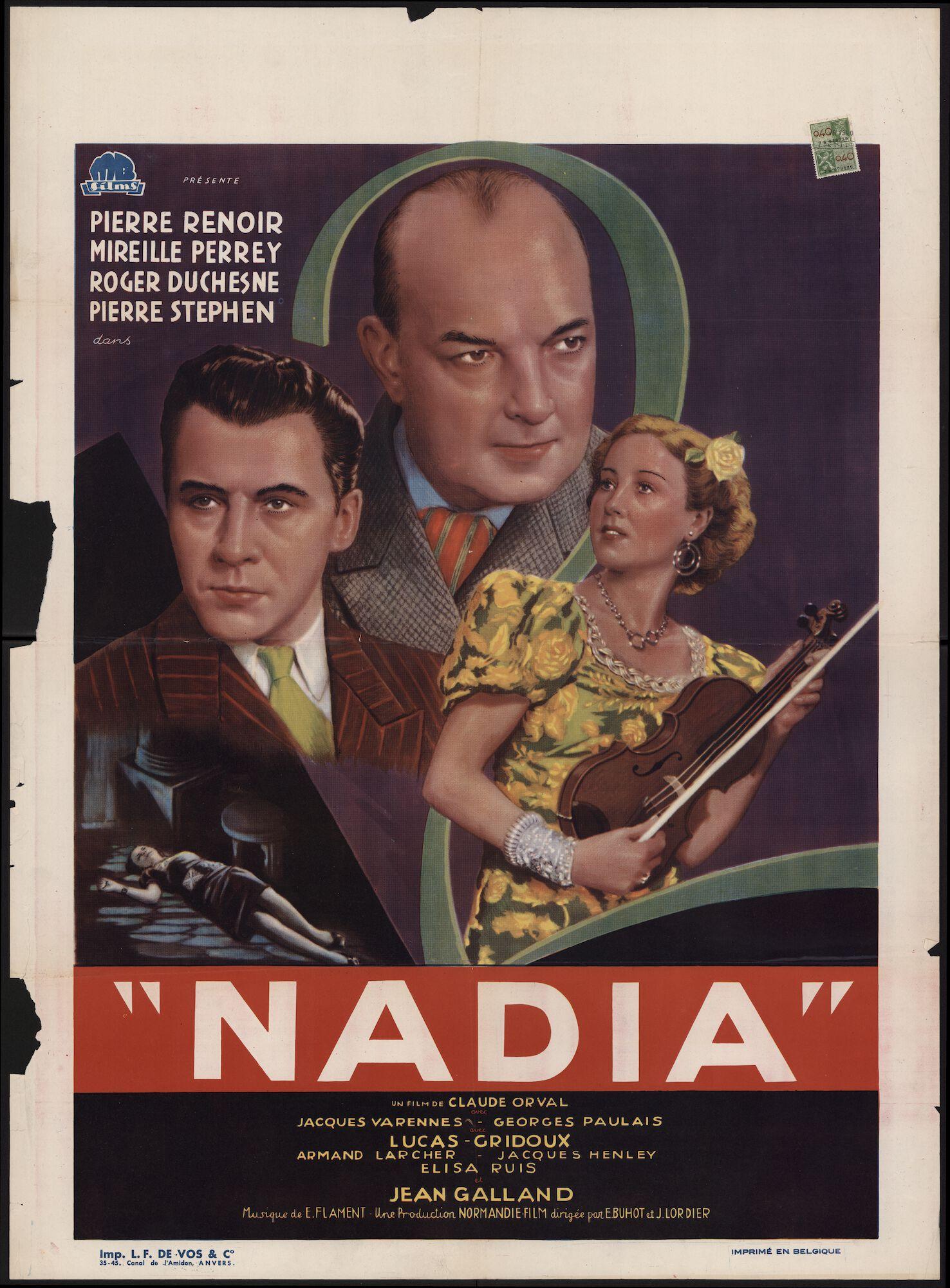 Nadia, Gent, april 1940