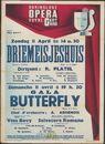 Gala Butterfly, musique de G. Puccini, Vina Bovy, Salvatore Romano à 19 h.30 - Driemeisjeshuis, muziek van Fr. Schubert, dirigent: R. Platel om 14 u.30, zondag 11 april 1948, Koninklijke Opera te Gent