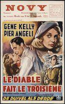 The Devil Makes Three | Le diable fait le troisième | De duivel als derde, Novy, Gent, 11 - 17 september 1953